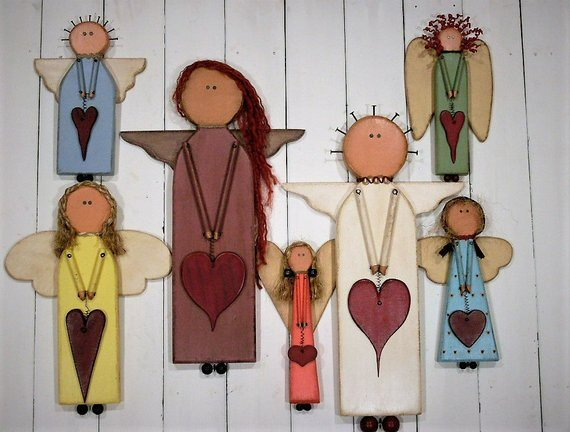 Re Claimed Wood Angels-Limited Supply