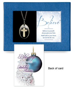 Believe Gift-Boxed Pendant