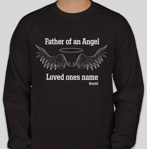 Father of an Angel-Personalized