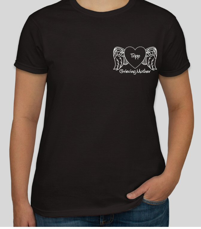 Grieving Mother_Personalized Tee Shirt