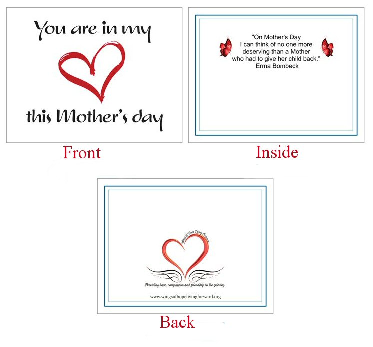 You are in my heart this Mothers Day