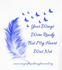Your wings were ready-My Heart was Not