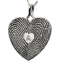 Double Fingerprint Jewelry