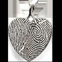 Heart Fingerprint Jewelry