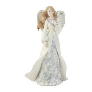 Touching Heart Beautiful Angel Figurine