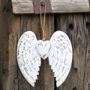 Angel Wings Handcrafted Wooden